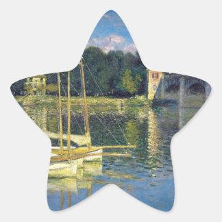 The Bridge at Argenteuil - Claude Monet Stickers
