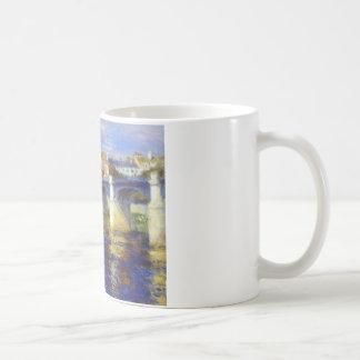 The bridge at chatou by Pierre-Auguste Renoir Coffee Mug