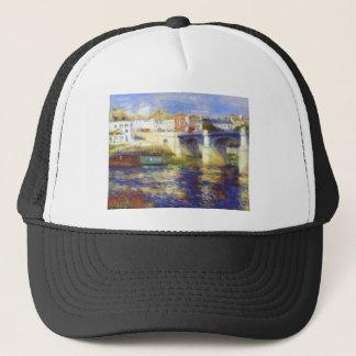 The bridge at chatou by Pierre-Auguste Renoir Trucker Hat