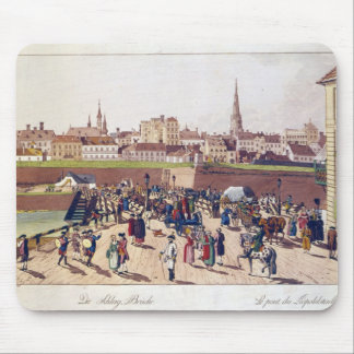 The Bridge at Leopoldstadt, Vienna, 1780 Mouse Pad