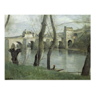 The Bridge at Mantes Postcard
