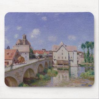 The Bridge at Moret, 1893 Mouse Pad