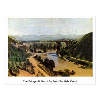 The Bridge At Narni By Jean-Baptiste Corot Postcard
