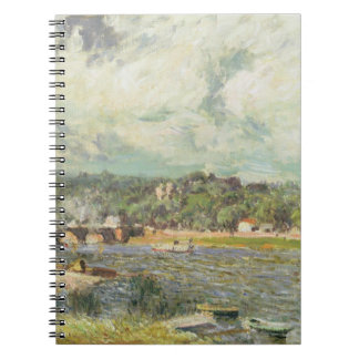 The Bridge at Sevres, c.1877 (oil on canvas) Note Books