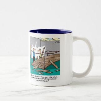The Bridge between Business & IT: Business Analyst Two-Tone Coffee Mug