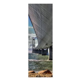 The Bridge Bookmark Mini Business Card