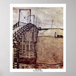The Bridge By Schiele Egon Posters