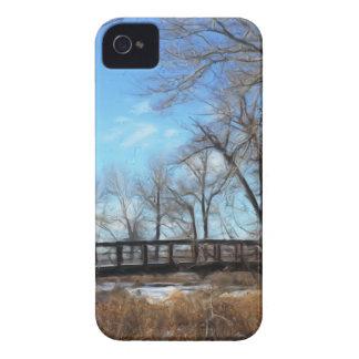 The Bridge in Autumn Natural iPhone 4 Case-Mate Cases