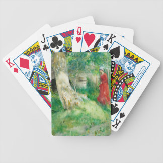 The Bridge in Grez Bicycle Playing Cards
