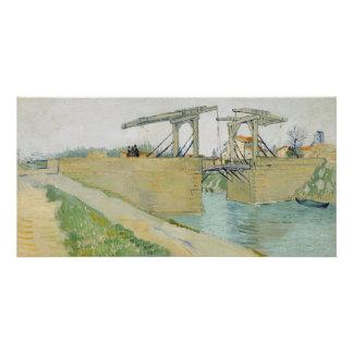 The Bridge of Langlois by Vincent Van Gogh Card
