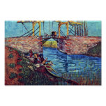The Bridge Of L'Anglois By Vincent Van Gogh Posters