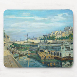 The Bridge of Louis Philippe, 1875 (oil on canvas) Mouse Pad
