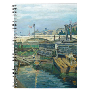 The Bridge of Louis Philippe, 1875 (oil on canvas) Notebook