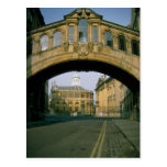 The Bridge of Sighs, framing the Sheldonian Theatr Postcard