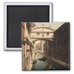 The Bridge of Sighs II, Venice, Italy Refrigerator Magnets