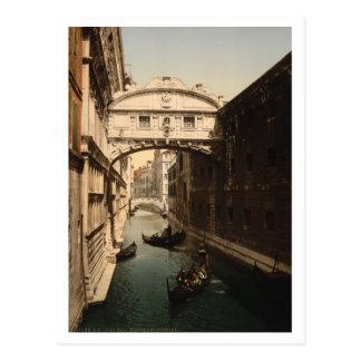 The Bridge of Sighs II, Venice, Italy Post Card