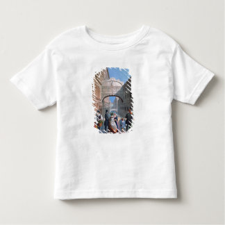 The Bridge of Sighs, Venice, engraved by Brizeghel Toddler T-shirt