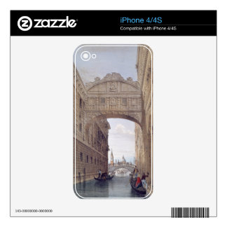 The Bridge of Sighs, Venice, engraved by Lefevre ( iPhone 4 Decals