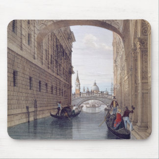 The Bridge of Sighs, Venice, engraved by Lefevre ( Mouse Pad