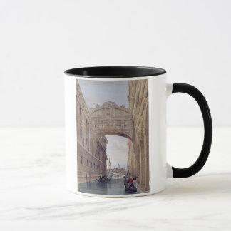 The Bridge of Sighs, Venice, engraved by Lefevre ( Mug