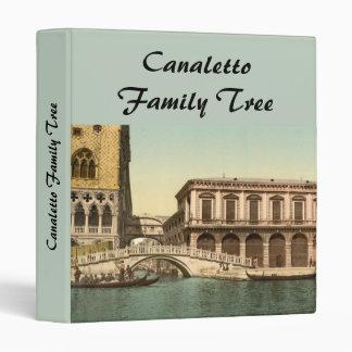 The Bridge of Sighs, Venice, Italy Vinyl Binder