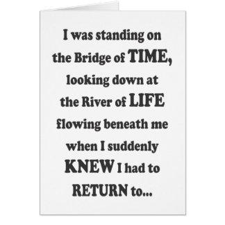 The Bridge of Time - Card