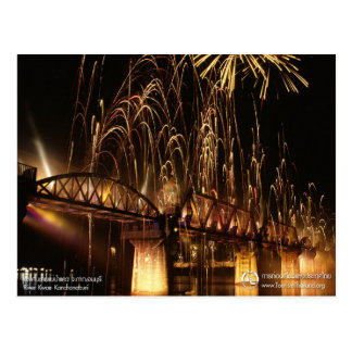 The Bridge over the River Kwai (Night View) Postcards