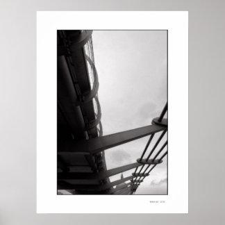 THE BRIDGE Poster Print