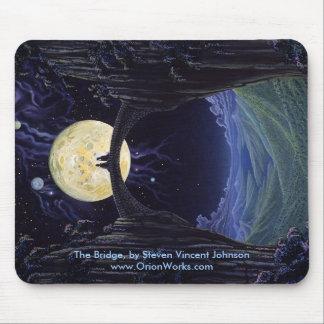 The Bridge, The Bridge, by Steven Vincent Johns... Mouse Pad