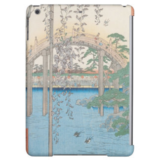The Bridge with Wisteria or Kameido Tenjin iPad Air Covers