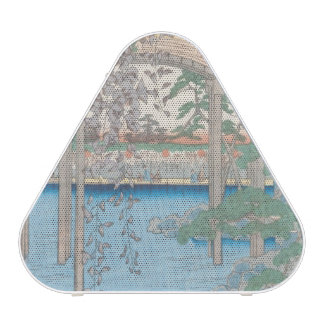 The Bridge with Wisteria or Kameido Tenjin Speaker