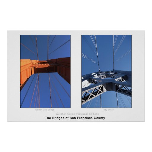 The Bridges of San Francisco County Print