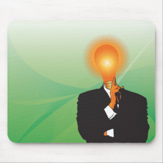 The Brightest Bulb in the Knife Drawer Mouse Pad