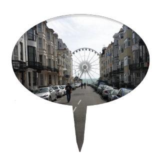 The Brighton Wheel in Brighton, UK Cake Topper