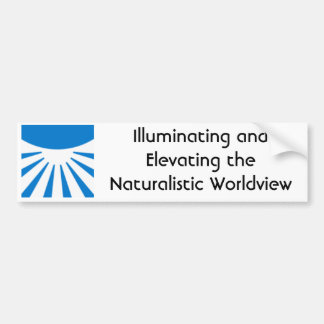 the-brights, Illuminating and Elevating the Nat... Bumper Sticker