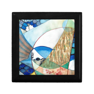 The Brilliant Bluejay Wildlife Painting Gift Box