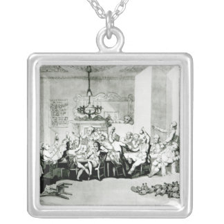 The Brilliants, 1801 Silver Plated Necklace