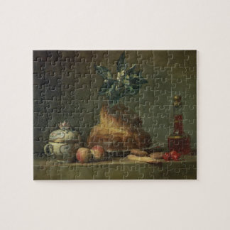 The Brioche or The Dessert, 1763 (oil on canvas) Jigsaw Puzzle
