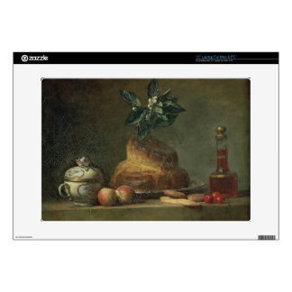 The Brioche or The Dessert, 1763 (oil on canvas) Laptop Decal
