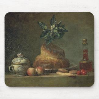 The Brioche or The Dessert, 1763 (oil on canvas) Mousepad