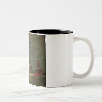 The Brioche or The Dessert, 1763 (oil on canvas) Two-Tone Coffee Mug