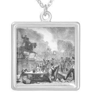 The Bristol Reform Riots Square Pendant Necklace