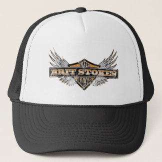 The Brit Stokes Band Logo Trucker Hat