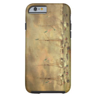 The British and American Fleets Engaged on Lake Bo Tough iPhone 6 Case