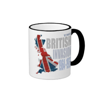 The British Invasion 1964-1966 Ringer Coffee Mug