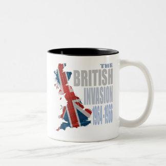 The British Invasion 1964-1966 Two-Tone Coffee Mug