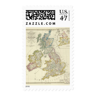 The British Isles after their church Postage