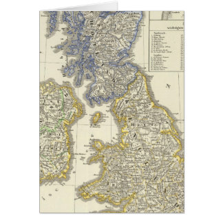 The British Isles from 1066 to 1485 Card