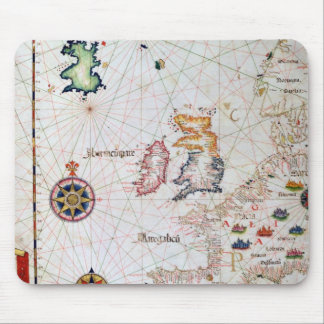 The British Isles, Iberia and Northwest Africa Mouse Pad