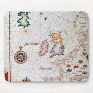 The British Isles, Iberia and Northwest Africa Mousepad